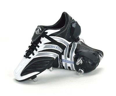 Adidas Nine 15 Iii Sg - Mens Rugby Boots - 010622 - Black - Brand New
