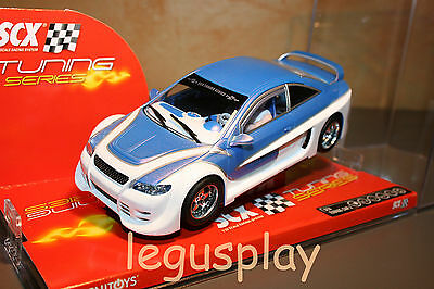 Slot SCX Scalextric 61980 Tuning Car 2 - New - With lights