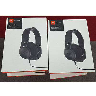 JBL S500 Synchros Slate Powered Over-Ear Stereo Headphones with Mic/Remote