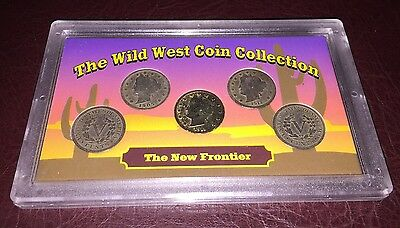 The Wild West Coin Collection V Nickels Set