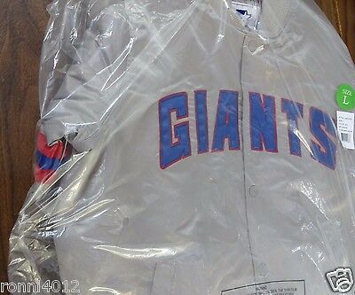 """Foot Patrol And Packer For Starter """"London Collection"""" New York Giants Jacket L"""