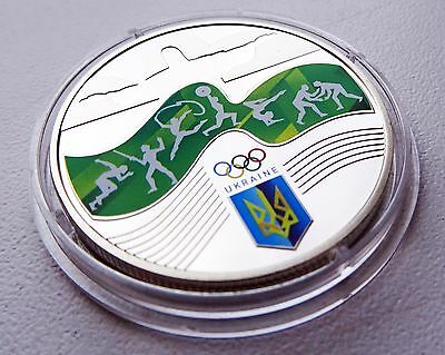 NEW 2016 Ukraine Coin 2 Hryvnias UAH Games of the ХХХІ Olympiad Rio de Janeiro