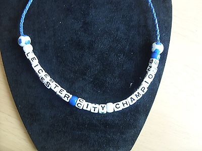 leicester city champions football necklace