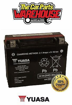 YTX24HL-BS (CP) Genuine Yuasa Motorcycle ATV Quad Buggy Battery With Acid Pack