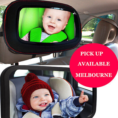 Car Baby Seat Inside Mirror View Back Safety Rear Facing Child Infant ABS OXFORD