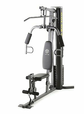 Gold's Gym XRS 50 Home Gym System Bench Chest Leg Press Pull Up Bar Exercise Kit