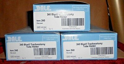30 - Dale 240 Blue Tracheostomy Tube Holders (3 Boxes)