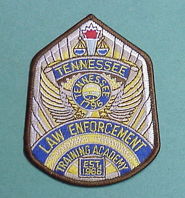Tennessee  Training Academy ( Brown Border )  Police Patch   Free Shipping!!!