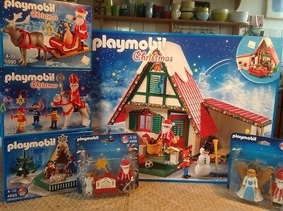 playmobil weihnachten superset neu und ovp konvolut. Black Bedroom Furniture Sets. Home Design Ideas