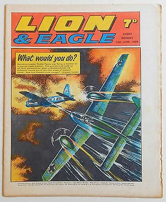LION and EAGLE Comic - 14th June 1969