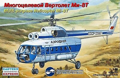 EASTERN EXPRESS 14505 - Soviet Multi-purpose Helicopter Mi-8T / Modell 1:144