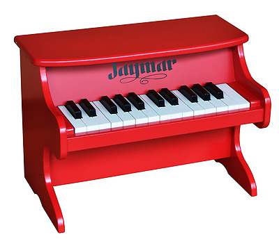 Jaymar 25 Key Table Top Piano (Red)