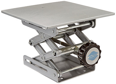 United Scientific LBJSET Laboratory Jack with Removable Platform and Support Rod