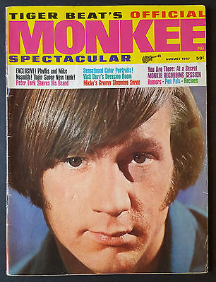 Tiger Beat's Official Monkee Spectacular #4 August 1967 VF