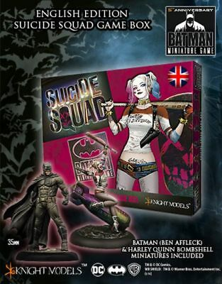 Suicide Squad Game Box Englisch Harley Quinn Batman 35mm Knight Models Tabletop