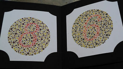 Ishihara Test Book Vision Testing determining color deficiency best quality Book