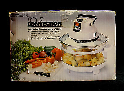 Decosonic Four Convection Oven Model 209 Brand New Moist Cooking No Oil Needed