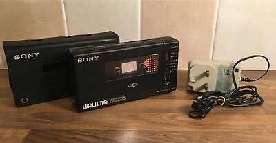 SONY WALKMAN PROFESSIONAL STEREO CASSETTE-CORDER - WM-D6C - Please See Details