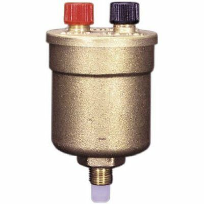 "WATTS BRASS & TUBULAR DUO VENT 1/8 1/8"" Boiler Vent Valve...NEW"