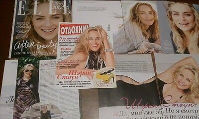 Sharon Stone clippings