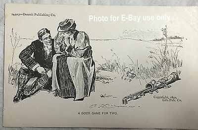 """1897 Life Publishing Co. - C. Dana Gibson - """"A Good Game For Two"""""""