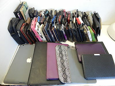 Wholesale lot of 137x phone & tablet case / cover /skin /wallets - lost property