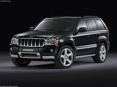 Jeep Wk 2005 Grand Cherokee Service Manual