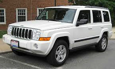 Jeep XK 2006-2010 Commander Factory Service Manual