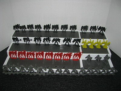 DRAGONRIDERS OF THE STYX Playset figures Lot of 47 DFC 1981, Yellow Wizards??