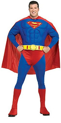Rubies Costume Co (Canada) DC Comics Deluxe Muscle Chest Superman