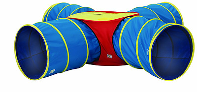 Pacific Play Tents Institutional Tunnels of Fun Junction Set, Blue