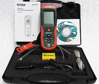 Extech HD750 Differential Pressure Manometer 5PSI ****Free Shipping*****