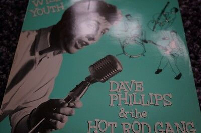 Dave Phillips & The Hot Rod Gang Wild Youth Rockhouse Records 8201