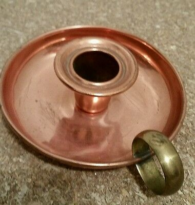 Awesome Little Copper & Brass Candle Holder