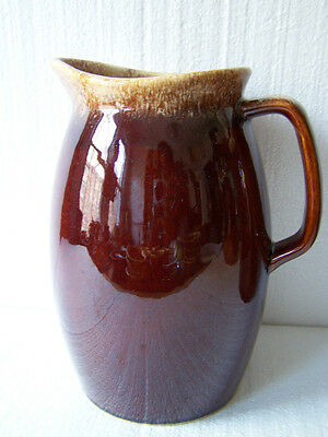 Hull Brown Drip Large Water Pitcher