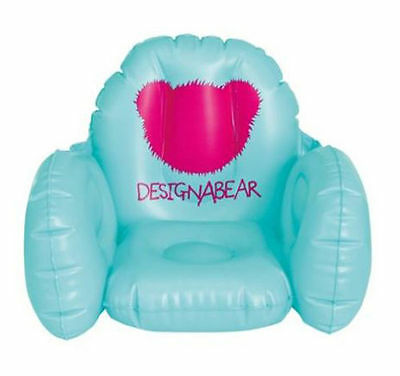 ++++New++++ (Design A Bear) Inflatable Teddy Bear Chair 'chad Valley'