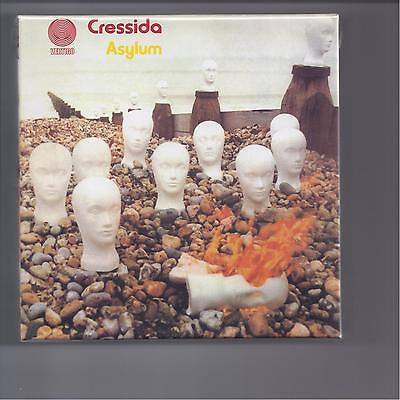 CRESSIDA empty official slipcase Asylum PROMO box for JAPAN mini lp cd like new