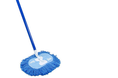 Swivel-Flex Professional Nylon Dust Mop with  48 in. Steel Handle Dust Collector
