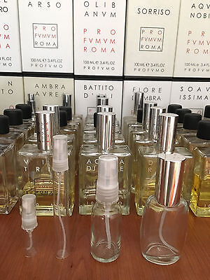 Profumum Roma - 3ml, 10ml, 20ml 30ml for sale - Select your fragrance and size..
