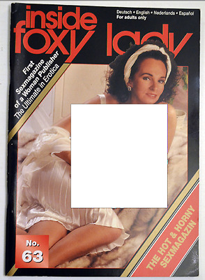 INCOMPLET/INSIDE FOXY LADY n°63/ROMAN PHOTO/CURIOSA/EROTIQUE/EROTIC