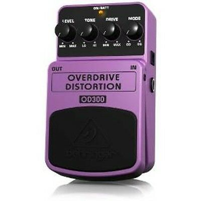 Behringer OD300 2-Mode Overdrive/ Distortion Effects Pedal - NEW!