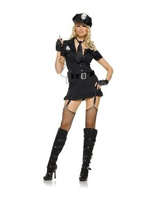 Dirty Cop Costume, Leg Avenue, Police, Sexy, Sargent, 6-20, Halloween, SWAT