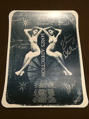 Jane's Addiction-2012 Theater of Escapists Autographed Lithograph-Ver. #1 Poster