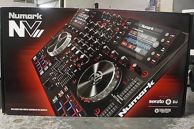 Numark NVII Serato 4 Channel DJ Controller Intelligent Dual-Display Screens NV2