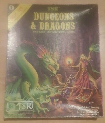 dungeons and dragons 1st edition - d&d basic set 1 complete
