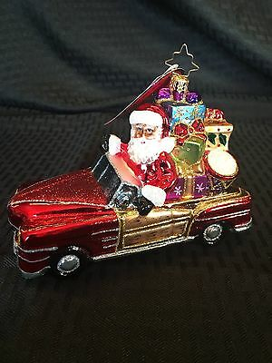 NWT CHRISTOPHER RADKO VINTAGE RIDE Santa $66 SOLD OUT - Retired 2016