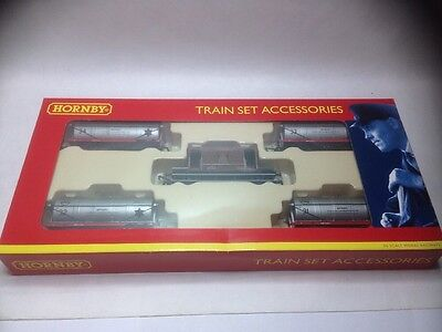 Hornby R6289 5 Pack ICI Tank Wagons and Brake Van