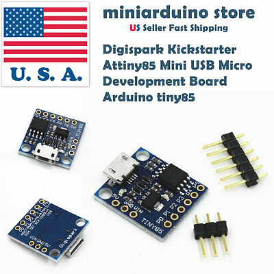 Digispark Kickstarter Attiny85 Mini USB Micro Development Board Arduino tiny85