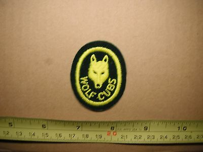 Wolf Cubs Patch Free Worldwide Shipping!!