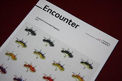 Audi Encounter 2012 - Environmental Magazine / Book - 166 Pages - A1 A3 A4 A5 A6